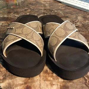Coach Sandals like new